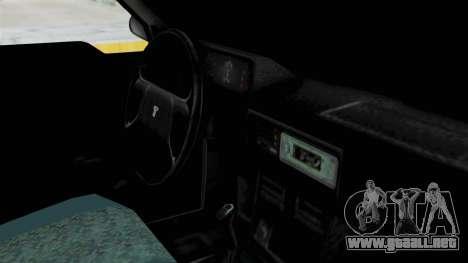 Tofas Dogan SLX para la visión correcta GTA San Andreas