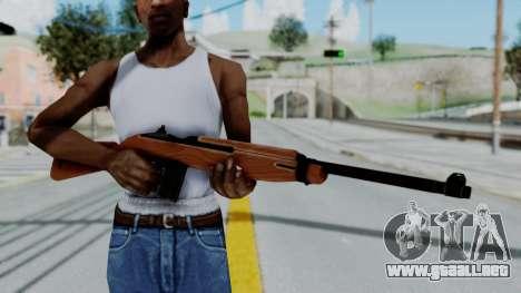 M1 Carbine para GTA San Andreas tercera pantalla