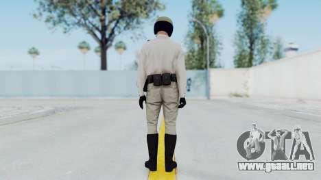 GTA 5 Cop-Biker para GTA San Andreas tercera pantalla