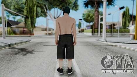 Skin Random 1 from GTA 5 Online para GTA San Andreas tercera pantalla