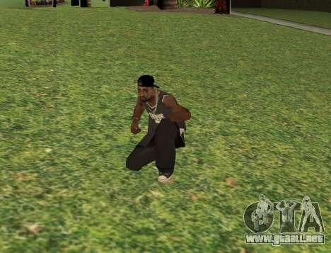 Black fam3 para GTA San Andreas tercera pantalla