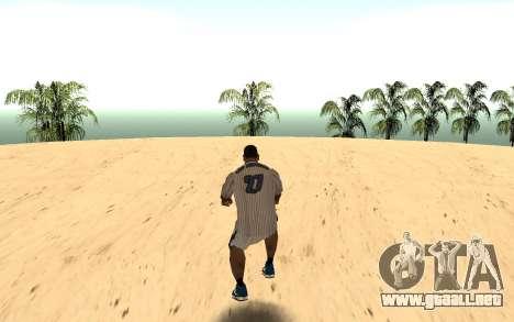 Invisibile BMX para GTA San Andreas segunda pantalla