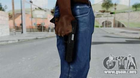 GTA 5 AP Pistol para GTA San Andreas tercera pantalla