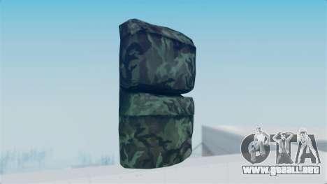 Arma 2 New Backpack para GTA San Andreas segunda pantalla
