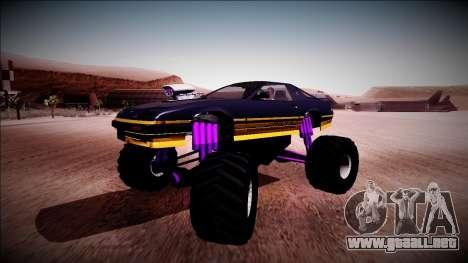 GTA 5 Imponte Ruiner Monster Truck para visión interna GTA San Andreas