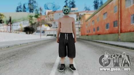 Skin Random 1 from GTA 5 Online para GTA San Andreas segunda pantalla