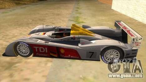 Audi R10 para GTA San Andreas left