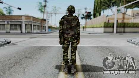 Srpski Vojnik 1999 para GTA San Andreas tercera pantalla