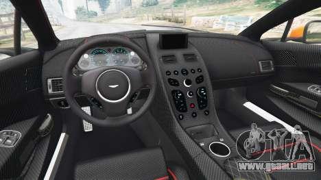 GTA 5 Aston Martin Vantage GT12 2015 vista trasera