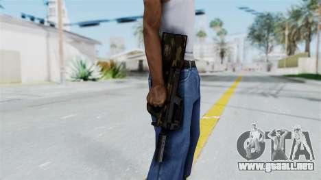 P90 Camo1 para GTA San Andreas tercera pantalla