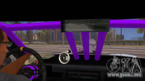 Stretch Sedan Drag para visión interna GTA San Andreas