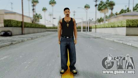 GTA 5 Mexican Goon 2 para GTA San Andreas segunda pantalla