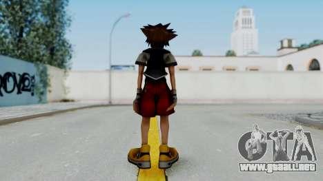 Kingdom Hearts 2 - Sora Early Costume Fix para GTA San Andreas tercera pantalla