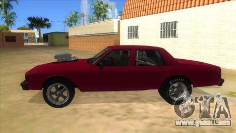 1984 Chevrolet Impala Drag para GTA San Andreas left