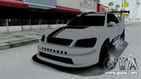 GTA 5 Karin Sultan RS Drift Double Spoiler PJ para la vista superior GTA San Andreas
