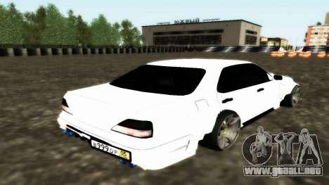 Nissan Cedric WideBody para GTA San Andreas vista hacia atrás