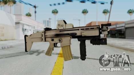Arma2 MK16 Holo para GTA San Andreas