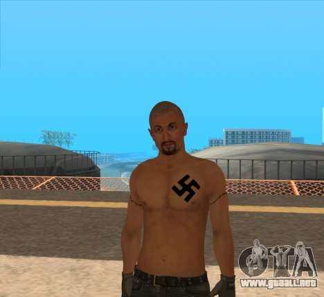 Derek Vinyard: American history X para GTA San Andreas segunda pantalla