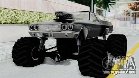 Chevrolet El Camino SS 1970 Monster Truck para GTA San Andreas