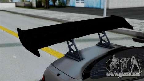 Nissan Silvia S14 Stance para visión interna GTA San Andreas