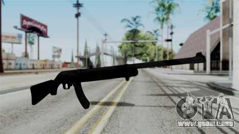 No More Room in Hell - Ruger 10 22 para GTA San Andreas