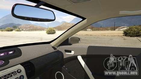 GTA 5 Infiniti G35 vista lateral derecha