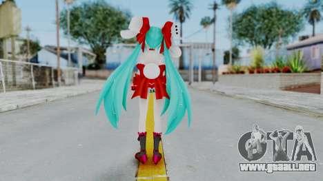 Hatsune Miku (Rabbit Girl) para GTA San Andreas tercera pantalla