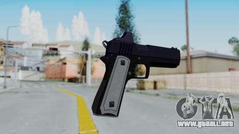 GTA 5 Heavy Pistol - Misterix 4 Weapons para GTA San Andreas tercera pantalla