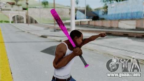 GTA 5 Baseball Bat 4 para GTA San Andreas tercera pantalla