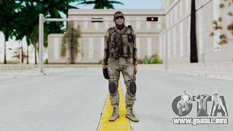 Crysis 2 US Soldier 2 Bodygroup A para GTA San Andreas segunda pantalla