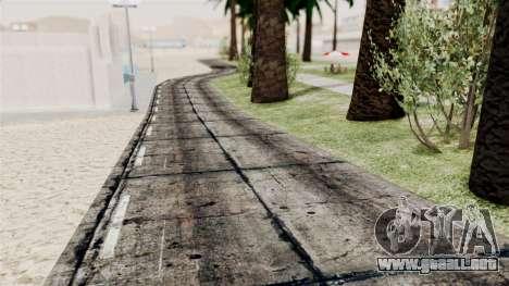 New Beach Textures para GTA San Andreas tercera pantalla