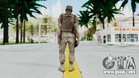 Crysis 2 US Soldier 5 Bodygroup A para GTA San Andreas tercera pantalla