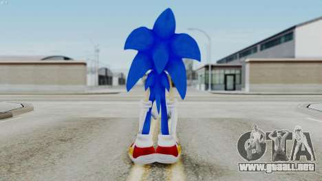 Sonic The Hedgehog 2006 para GTA San Andreas tercera pantalla
