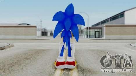 Sonic The Hedgehog 2006 para GTA San Andreas tercera pantalla