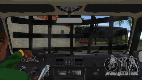 Mercedes-Benz G55 Response para visión interna GTA San Andreas
