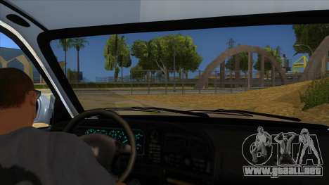 Honda Accord Sedan 1997 para visión interna GTA San Andreas