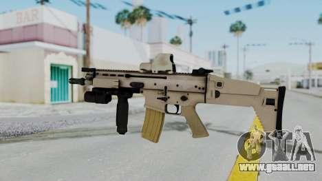 Arma2 MK16 Holo para GTA San Andreas segunda pantalla