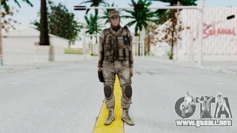Crysis 2 US Soldier 5 Bodygroup A para GTA San Andreas segunda pantalla