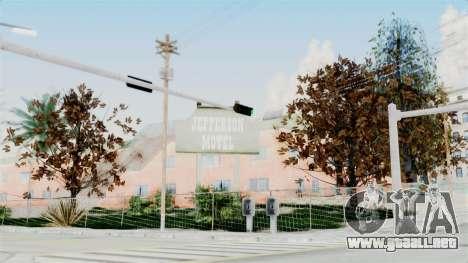 Vegetation Ultra HD para GTA San Andreas segunda pantalla