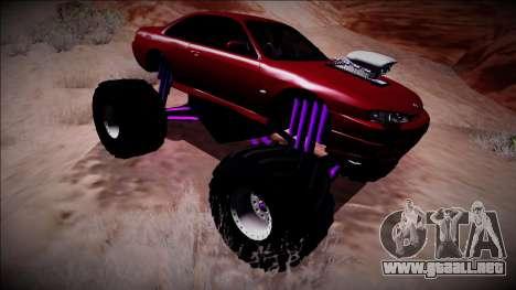 Nissan Silvia S14 Monster Truck para visión interna GTA San Andreas
