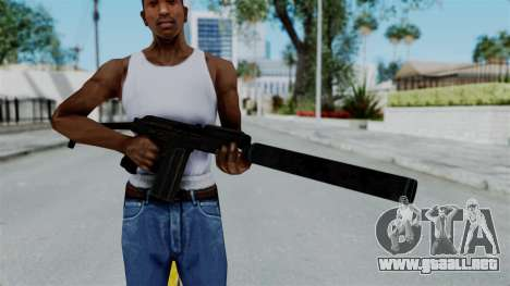 9A-91 Suppressor para GTA San Andreas tercera pantalla