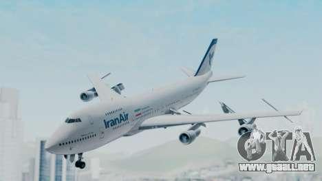 Boeing 747-186B Iran Air para GTA San Andreas