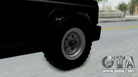 Aro 240 1996 para GTA San Andreas vista posterior izquierda