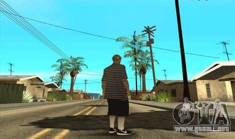 VLA3 para GTA San Andreas segunda pantalla