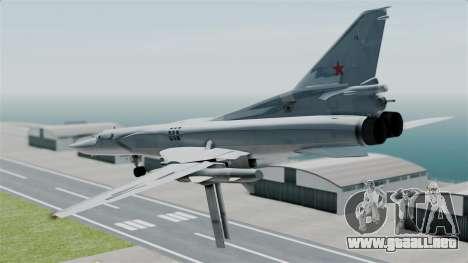TU-22M3 para la visión correcta GTA San Andreas