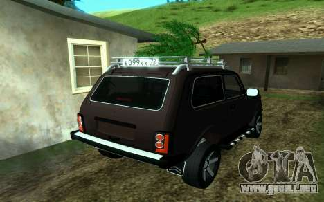 VAZ 2121 Niva Forester para GTA San Andreas left