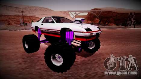GTA 5 Imponte Ruiner Monster Truck para la vista superior GTA San Andreas