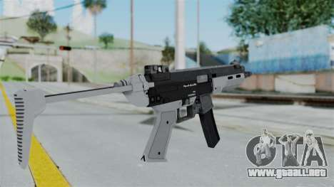 GTA 5 SMG - Misterix 4 Weapons para GTA San Andreas segunda pantalla
