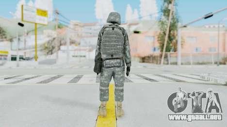 Acu Soldier 5 para GTA San Andreas tercera pantalla