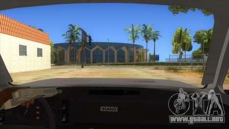 Zastava Poly 1.3 para visión interna GTA San Andreas